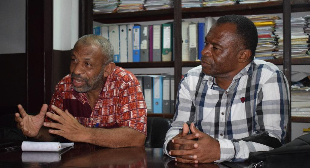 Le Dr Ben Imani et Mohamed Moussa, enseignant-chercheur de l'université des Comores, font partie du comité scientifique qui conseille le président et ses ministres sur la gestion de la crise du coronavirus.